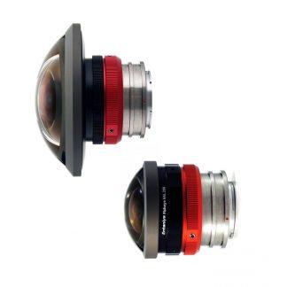 Mirrorless Fisheye Lens